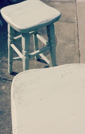 finished stools