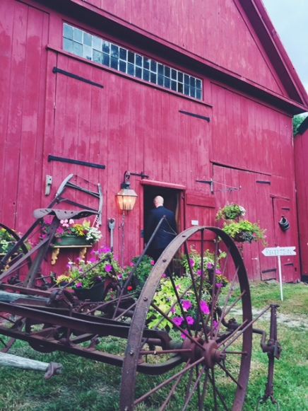 Wedding, Barn, NH