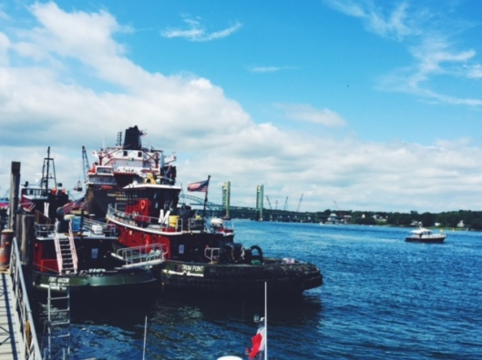 seacoast, NH, Portsmouth, harbor, tugboat